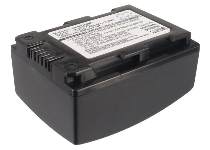 Cameron Sino baterie do kamer a fotoaparátů pro SAMSUNG HMX-H300BP 3.7V Li-ion 1800mAh černá - neoriginální