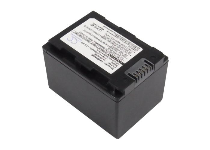 Cameron Sino baterie do kamer a fotoaparátů pro SAMSUNG HMX-H204 3.7V Li-ion 3600mAh černá - neoriginální