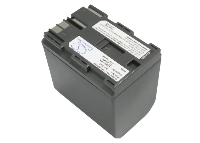 Cameron Sino baterie do kamer a fotoaparátů pro CANON MV530i 7.4V Li-ion 4500mAh tmavě šedá - neoriginální