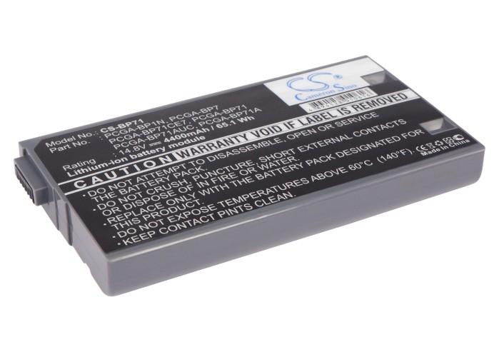 Cameron Sino baterie do notebooků pro SONY VAIO PCG-FX200 14.8V Li-ion 4400mAh šedá - neoriginální