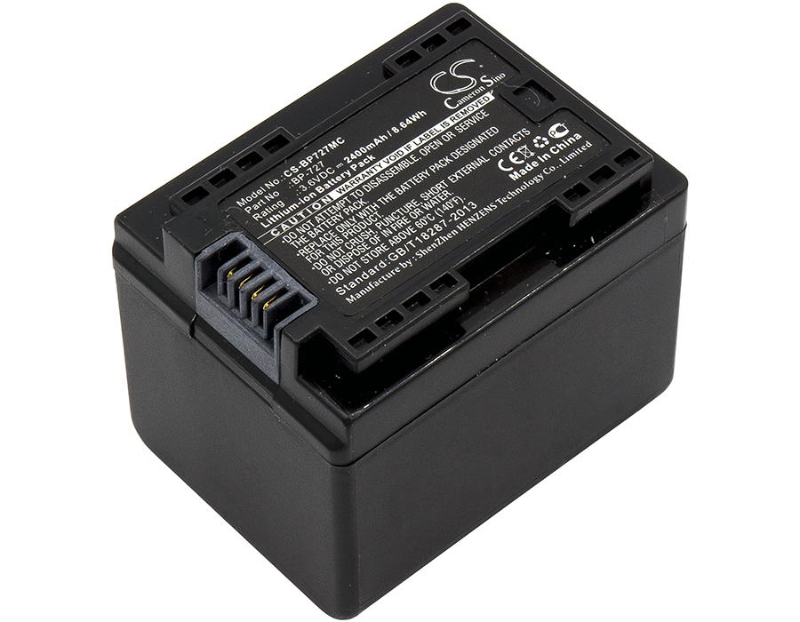 Cameron Sino baterie do kamer a fotoaparátů pro CANON VIXIA HF M500 3.6V Li-ion 2400mAh černá - neoriginální