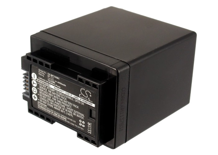 Cameron Sino baterie do kamer a fotoaparátů pro CANON Legria HF R36 3.6V Li-ion 4450mAh černá - neoriginální