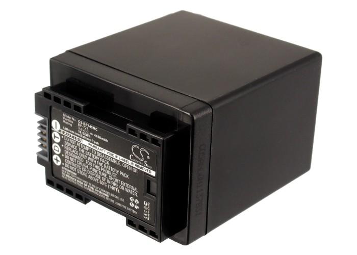 Cameron Sino baterie do kamer a fotoaparátů pro CANON VIXIA HF M500 3.6V Li-ion 4450mAh černá - neoriginální