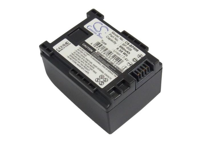 Akku Batteria 890mAh für CANON VIXIA HF M400 M41 S10 S100 S11 S20 S200 S21 S30