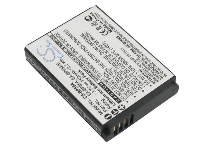 Cameron Sino baterie do kamer a fotoaparátů pro SAMSUNG EC-SH100ZBPBUS 3.7V Li-ion 750mAh černá - neoriginální