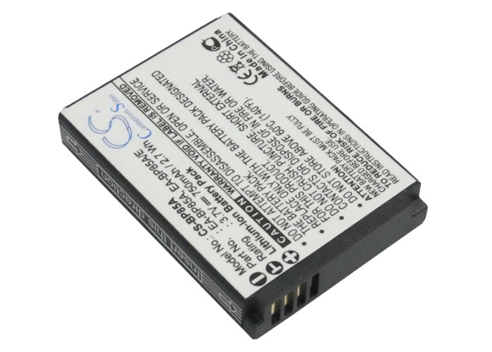 Cameron Sino baterie do kamer a fotoaparátů pro SAMSUNG EC-SH100ZBPSUS 3.7V Li-ion 750mAh černá - neoriginální