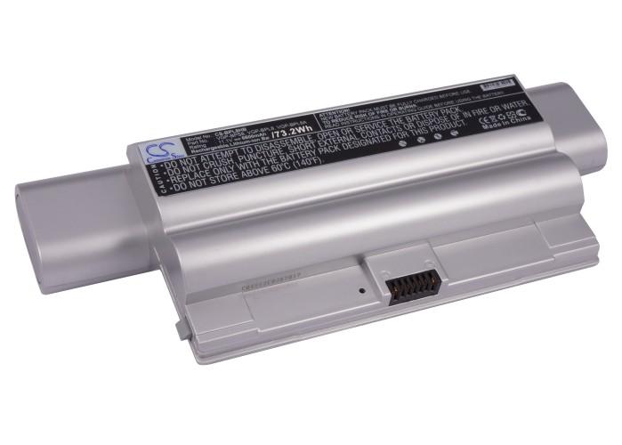 Cameron Sino baterie do notebooků pro SONY VAIO VGN-FZ240EB 11.1V Li-ion 6600mAh stříbrná - neoriginální