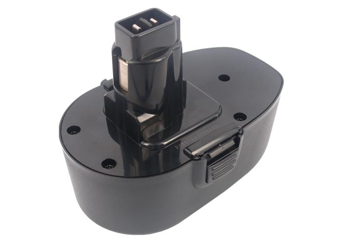 Cameron Sino baterie do nářadí pro BLACK & DECKER CD18CA 18V Ni-MH 2100mAh černá - neoriginální