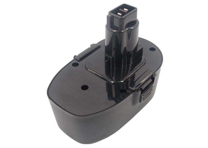 Cameron Sino baterie do nářadí pro BLACK & DECKER CD18CA 18V Ni-MH 3300mAh černá - neoriginální
