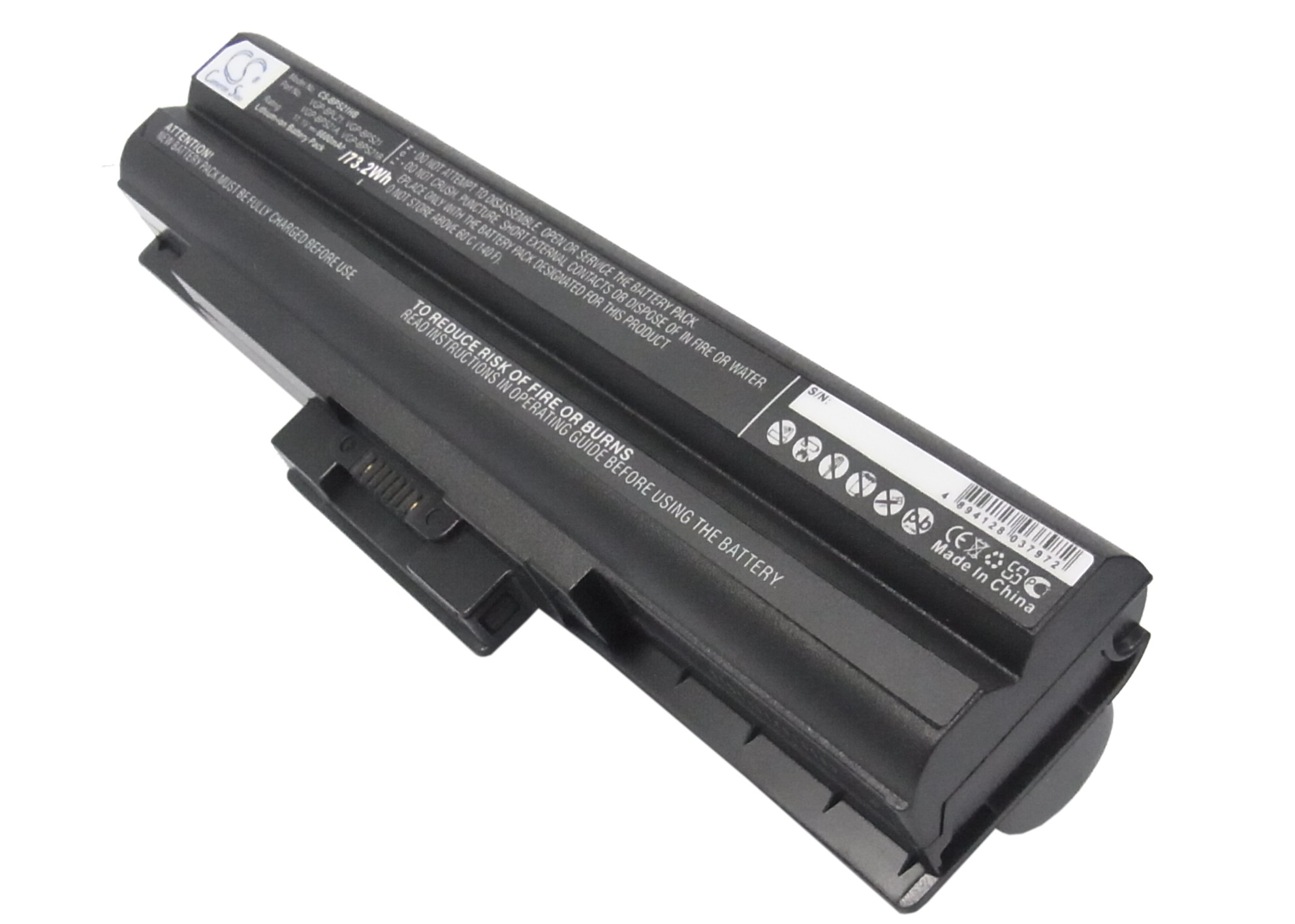Cameron Sino baterie do notebooků pro SONY VAIO VPCF11Z1E 11.1V Li-ion 6600mAh černá - neoriginální