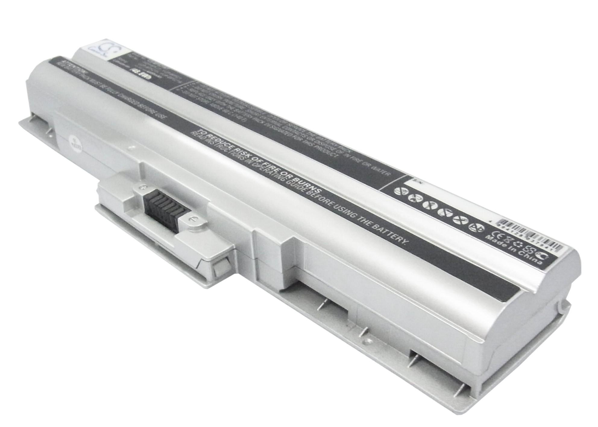 Cameron Sino baterie do notebooků pro SONY VAIO VGN-FW21L 11.1V Li-ion 4400mAh stříbrná - neoriginální