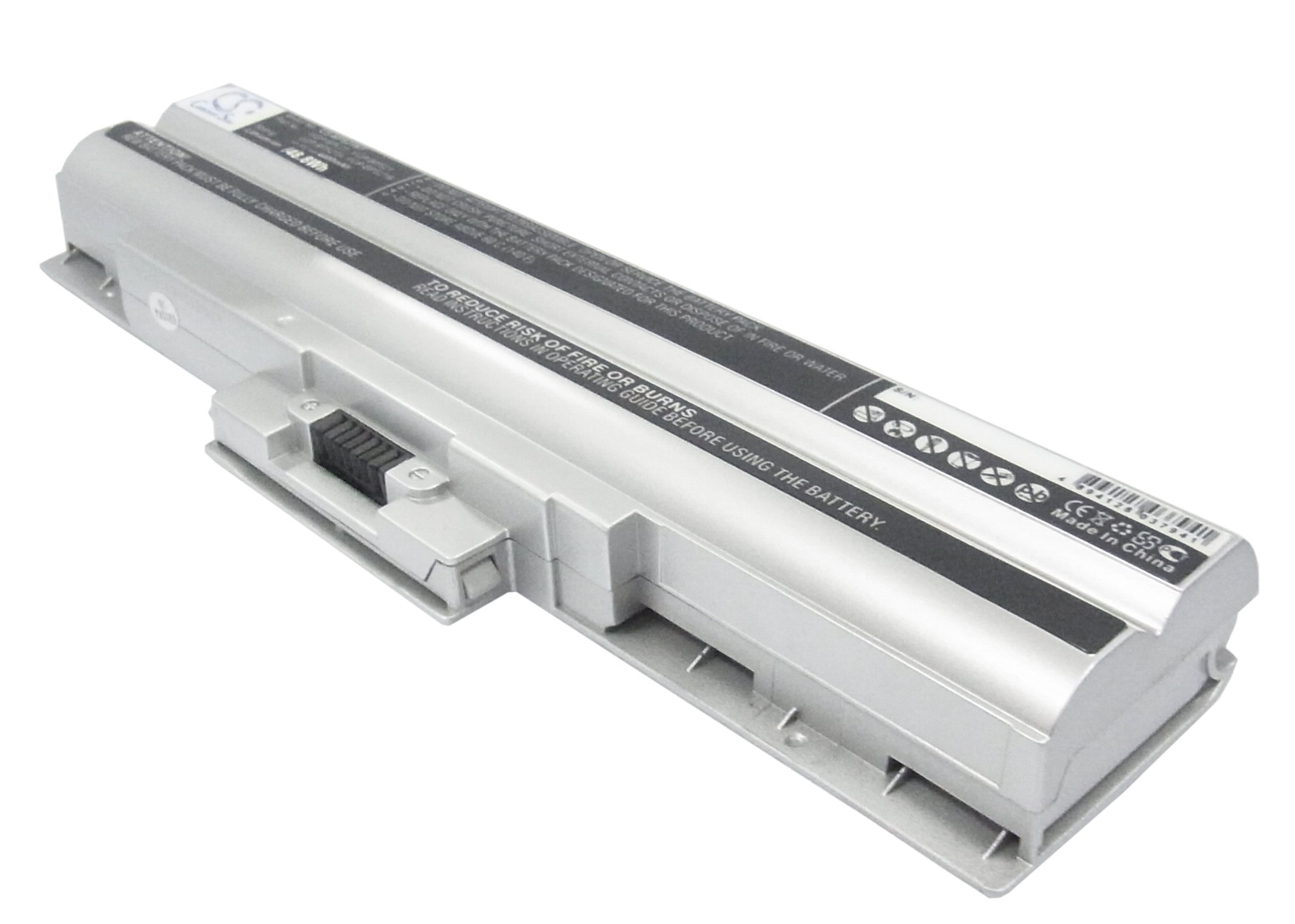 Cameron Sino baterie do notebooků pro SONY VAIO VPCF11Z1E 11.1V Li-ion 4400mAh stříbrná - neoriginální