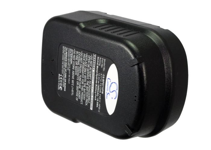 Cameron Sino baterie do nářadí pro BLACK & DECKER HP126F2K 12V Ni-MH 1500mAh černá - neoriginální