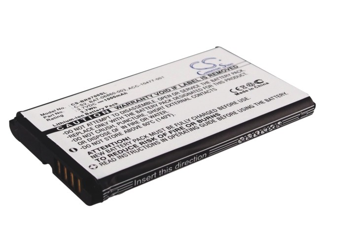 Cameron Sino baterie do mobilů pro BLACKBERRY Curve 8310 3.7V Li-ion 1000mAh černá - neoriginální