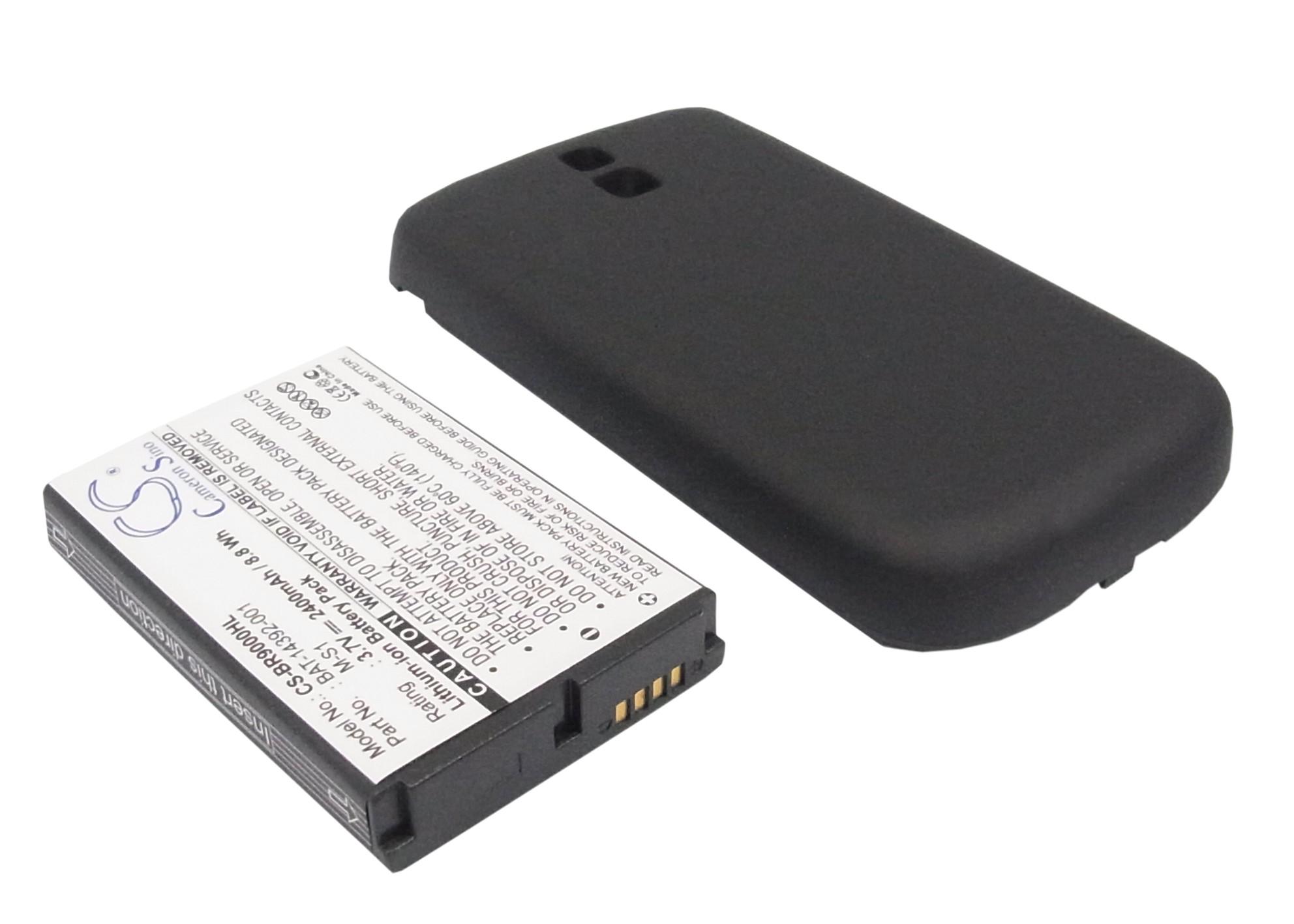 Cameron Sino baterie do mobilů pro BLACKBERRY Bold 9000 3.7V Li-ion 2400mAh černá - neoriginální