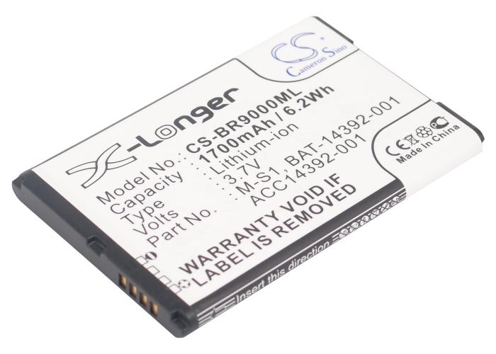 Cameron Sino baterie do mobilů pro BLACKBERRY Bold 9000 3.7V Li-ion 1700mAh černá - neoriginální