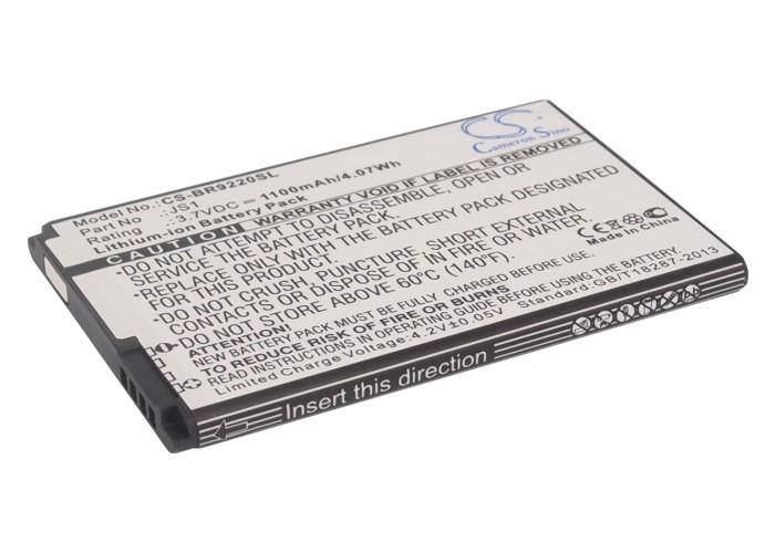 Cameron Sino baterie do mobilů pro BLACKBERRY Curve 9220 3.7V Li-ion 1100mAh černá - neoriginální