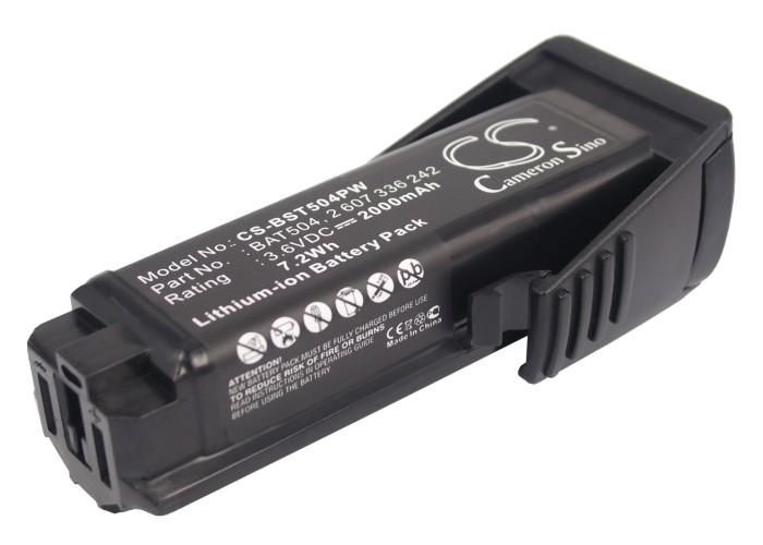 Cameron Sino baterie do nářadí pro BOSCH GSR Mx2Drive 3.6V Li-ion 2000mAh černá - neoriginální