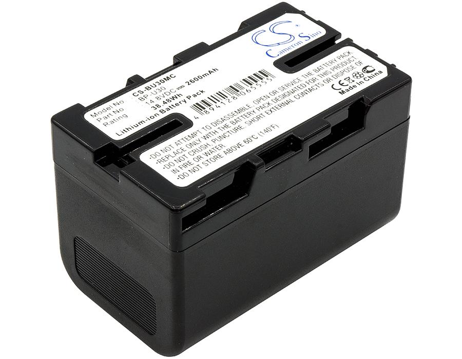 Cameron Sino baterie do kamer a fotoaparátů pro SONY PMW-EX1r 14.8V Li-ion 2600mAh černá - neoriginální