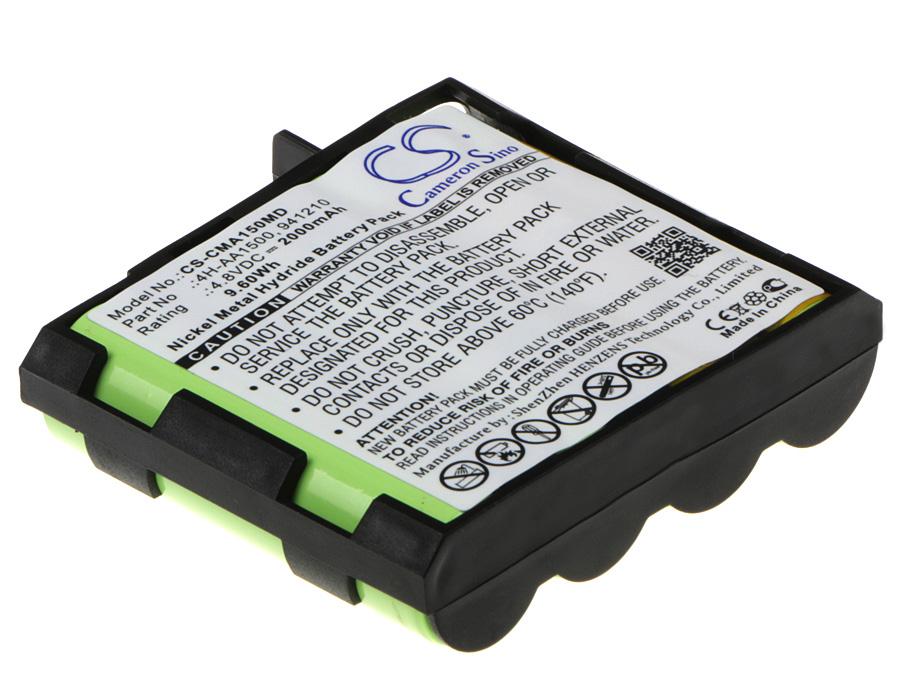 Cameron Sino baterie do zdravotnických zařízení pro COMPEX SP 4.0 4.8V Ni-MH 2000mAh černá - neoriginální