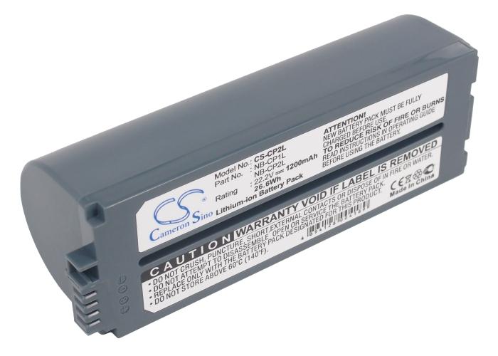 Cameron Sino baterie do tiskáren pro CANON Selphy CP-510 22.2V Li-ion 1200mAh černá - neoriginální
