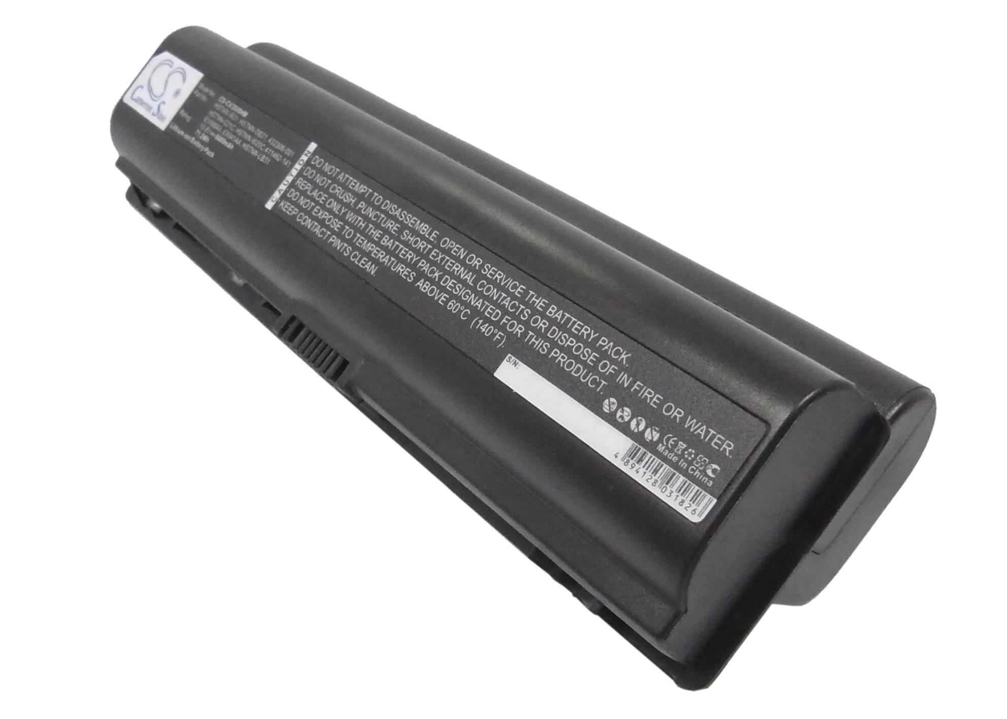 Cameron Sino baterie do notebooků pro HP Pavilion dv6500 10.8V Li-ion 6600mAh černá - neoriginální