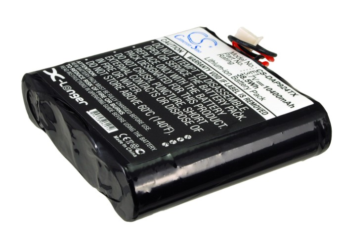 Cameron Sino baterie do digitálních rádií pro PURE EVOKE-1S Marshall 3.7V Li-ion 10400mAh modrá - neoriginální