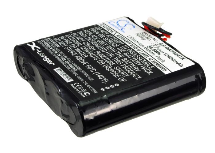 Cameron Sino baterie do digitálních rádií pro PURE Evoke-2S 3.7V Li-ion 10400mAh modrá - neoriginální