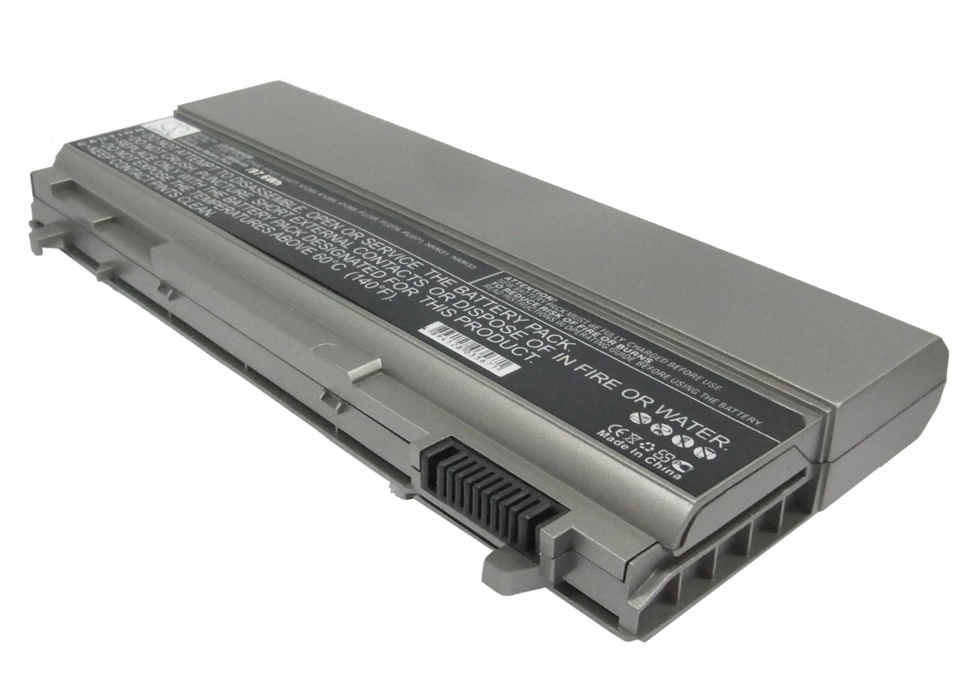 Cameron Sino baterie do notebooků pro DELL Latitude E6410 11.1V Li-ion 8800mAh stříbrná šedá - neoriginální