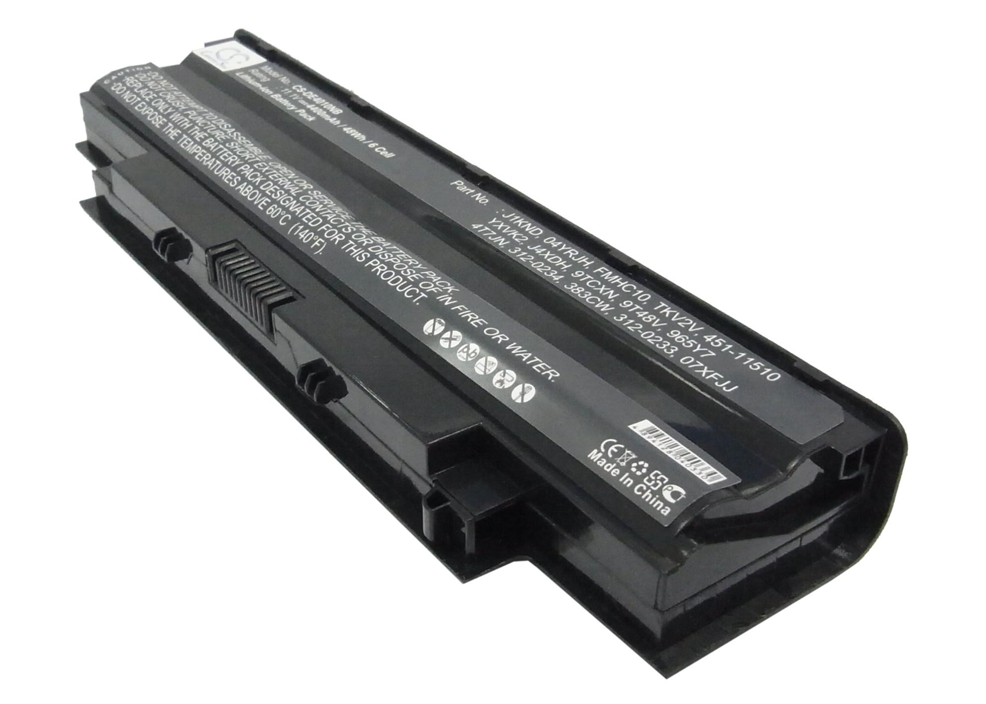 Cameron Sino baterie do notebooků pro DELL Inspiron 15R 5010-D370HK 11.1V Li-ion 4400mAh černá - neoriginální