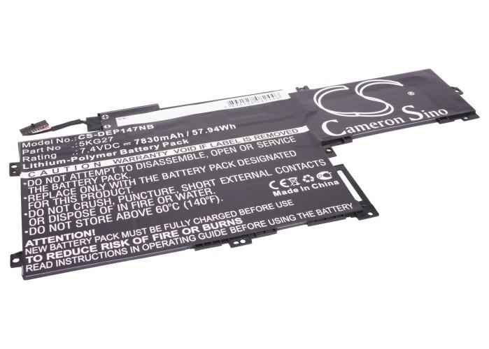 Cameron Sino baterie do notebooků pro DELL Inspiron 14-7437 7.4V Li-Polymer 7830mAh černá - neoriginální