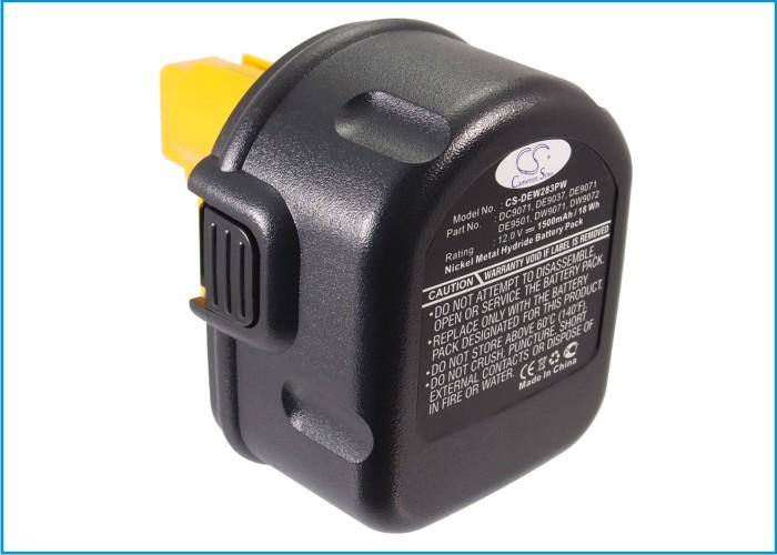 Cameron Sino baterie do nářadí pro DEWALT DW907K-2 12V Ni-MH 1500mAh černá - neoriginální