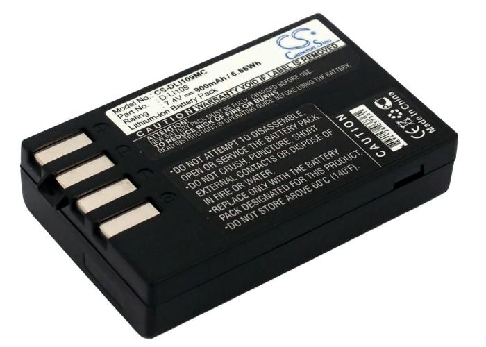 Cameron Sino baterie do kamer a fotoaparátů pro PENTAX K-R 7.4V Li-ion 900mAh černá - neoriginální