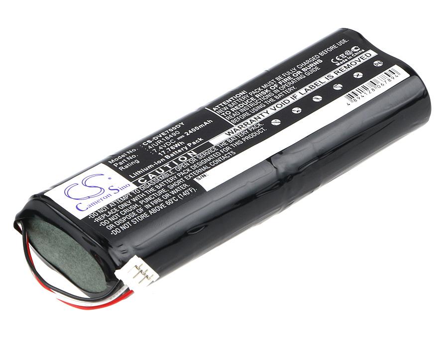 Cameron Sino baterie do dvd přehrávačů za 4/UR18490 7.4V Li-ion 2400mAh černá - neoriginální
