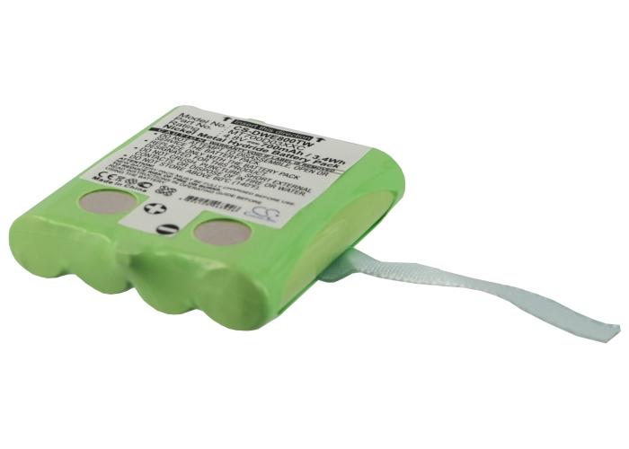 Cameron Sino baterie do vysílaček pro DETEWE Outdoor 8000 4.8V Ni-MH 700mAh zelená - neoriginální