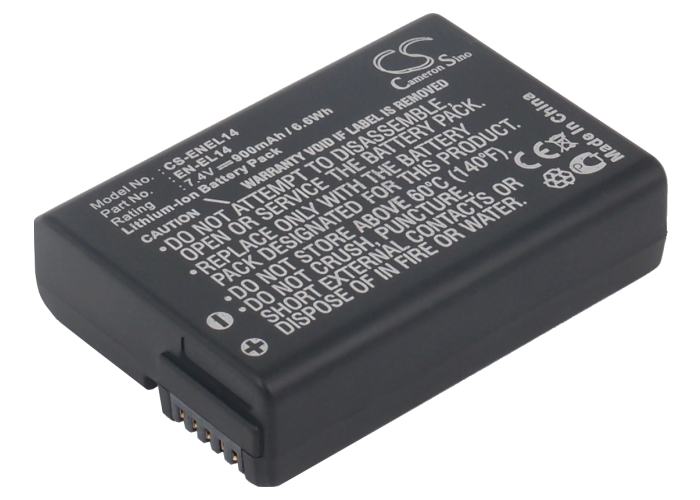 Cameron Sino baterie do kamer a fotoaparátů pro NIKON D5100 7.4V Li-ion 900mAh černá - neoriginální