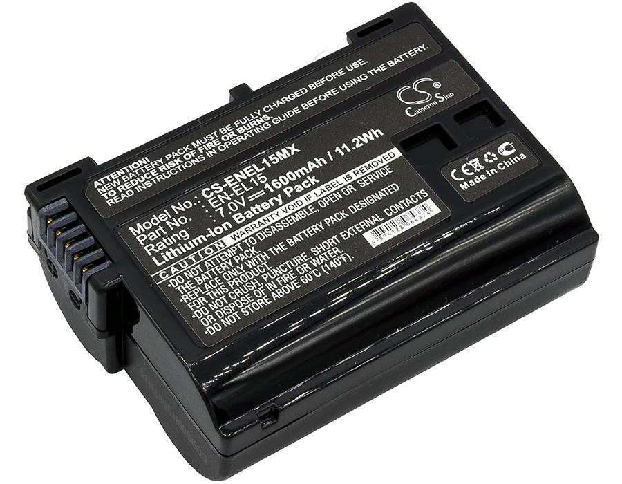 Cameron Sino baterie do kamer a fotoaparátů pro NIKON D810 7V Li-ion 1600mAh černá - neoriginální