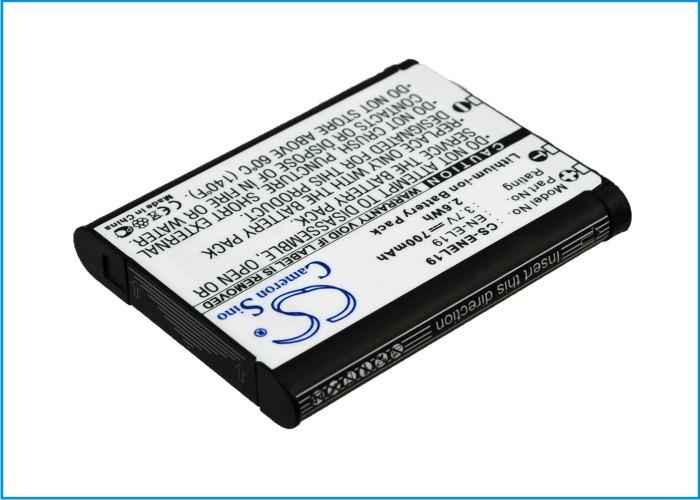 Cameron Sino baterie do kamer a fotoaparátů pro NIKON Coolpix S100 3.7V Li-ion 700mAh černá - neoriginální