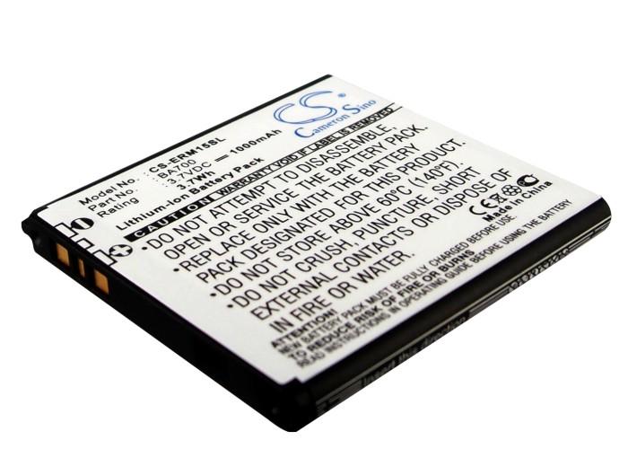Cameron Sino baterie do mobilů pro SONY ERICSSON Xperia Tipo Dual 3.7V Li-ion 1000mAh černá - neoriginální