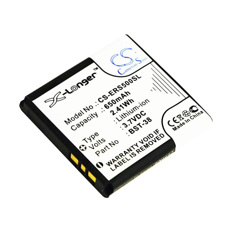 Cameron Sino baterie do mobilů pro SONY ERICSSON W150 3.7V Li-ion 930mAh černá - neoriginální