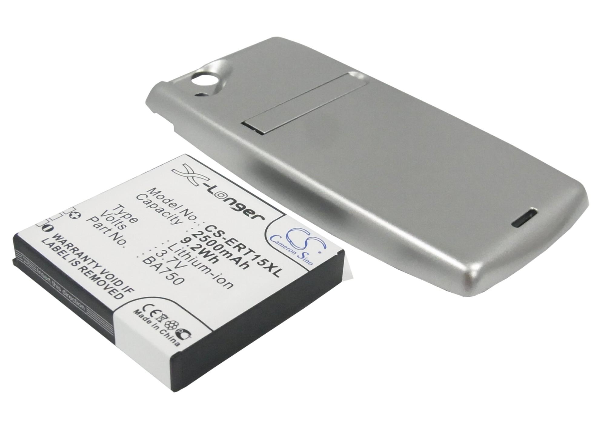 Cameron Sino baterie do mobilů pro SONY ERICSSON Xperia Arc 3.7V Li-ion 2500mAh stříbrná - neoriginální