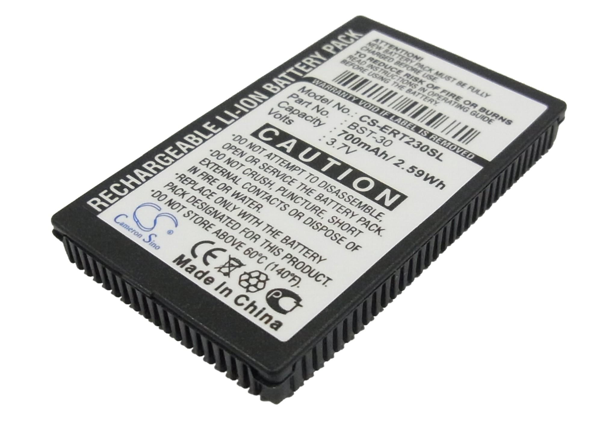 Cameron Sino baterie do mobilů pro SONY ERICSSON K300i 3.7V Li-ion 800mAh černá - neoriginální