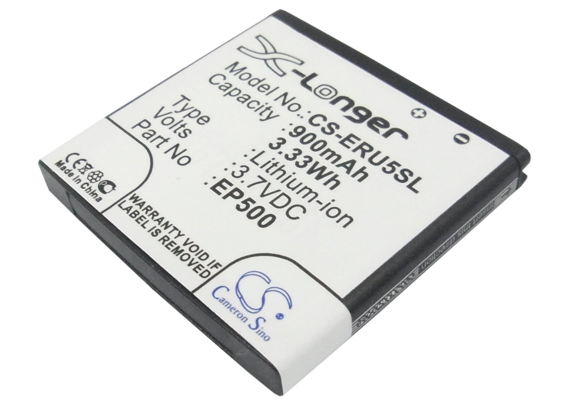 Cameron Sino baterie do mobilů pro SONY ERICSSON U8i Vivaz Pro 3.7V Li-ion 900mAh černá - neoriginální