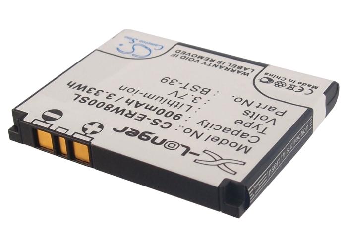 Cameron Sino baterie do mobilů pro SONY ERICSSON W550i 3.7V Li-ion 900mAh černá - neoriginální