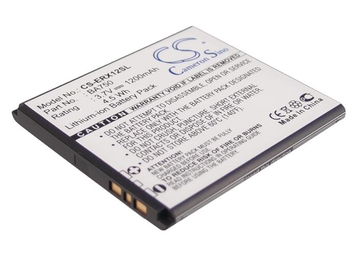 Cameron Sino baterie do mobilů pro SONY ERICSSON Xperia X12 3.7V Li-ion 1200mAh černá - neoriginální