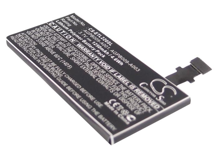 Cameron Sino baterie do mobilů pro SONY ERICSSON LT22i 3.7V Li-ion 1250mAh černá - neoriginální