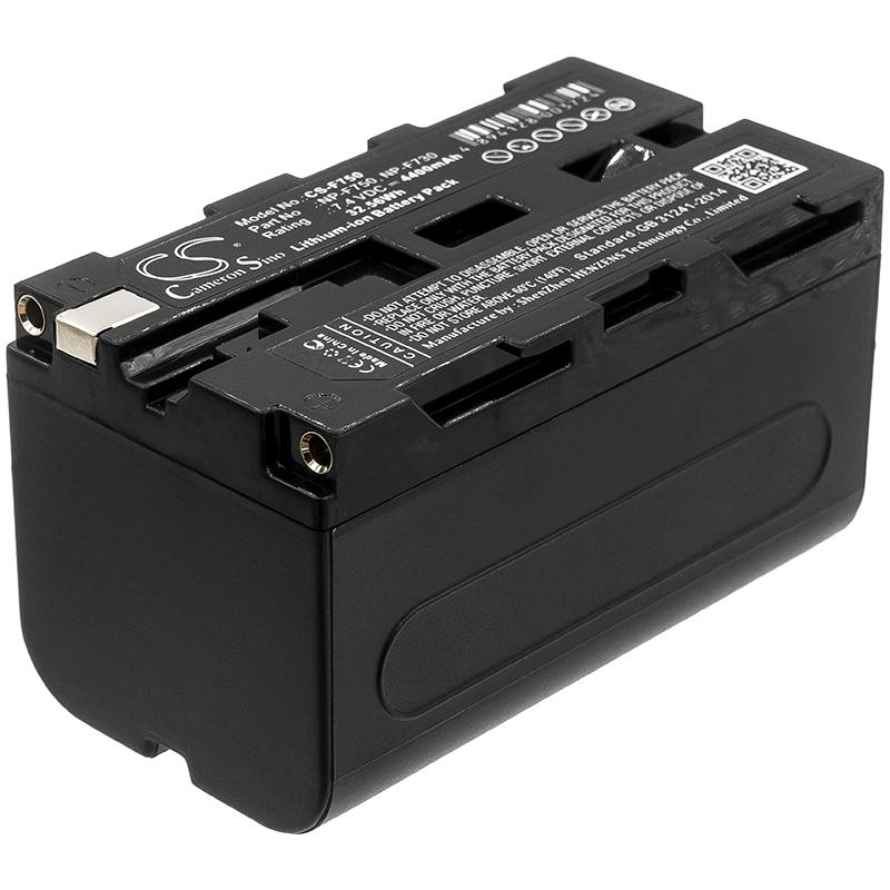 Cameron Sino baterie do kamer a fotoaparátů pro SONY HVR-Z1E 7.4V Li-ion 4400mAh tmavě šedá - neoriginální