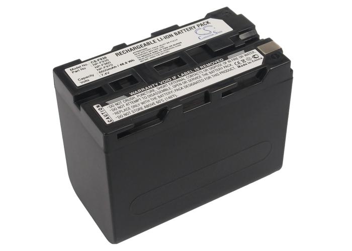 Cameron Sino baterie do kamer a fotoaparátů pro SONY PBD-D50 (DVD Player) 7.4V Li-ion 6600mAh tmavě šedá - neoriginální