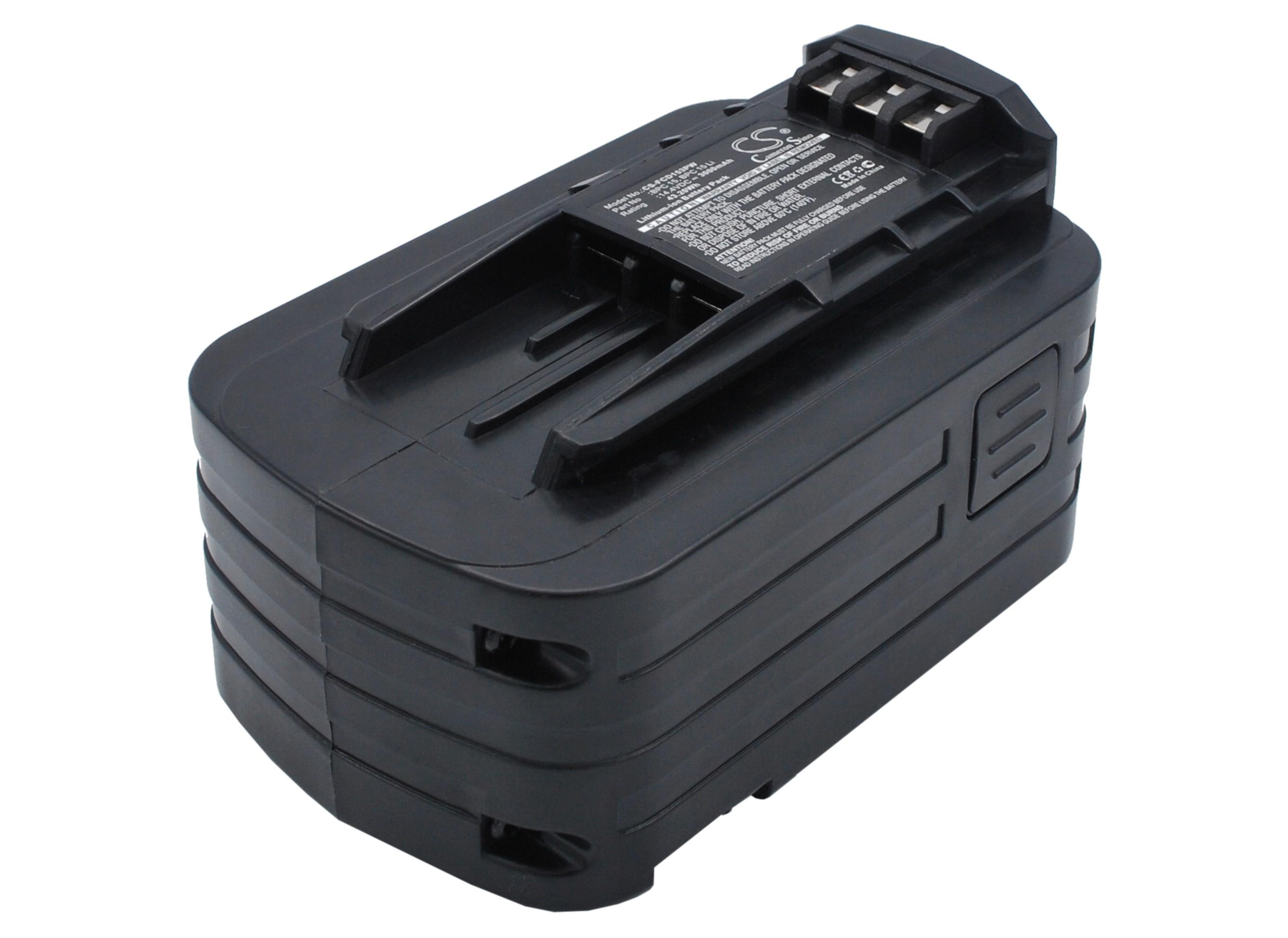 Cameron Sino baterie do nářadí pro FESTOOL DRC15 Cordless Drill/Driver 14.4V Li-ion 3000mAh černá - neoriginální