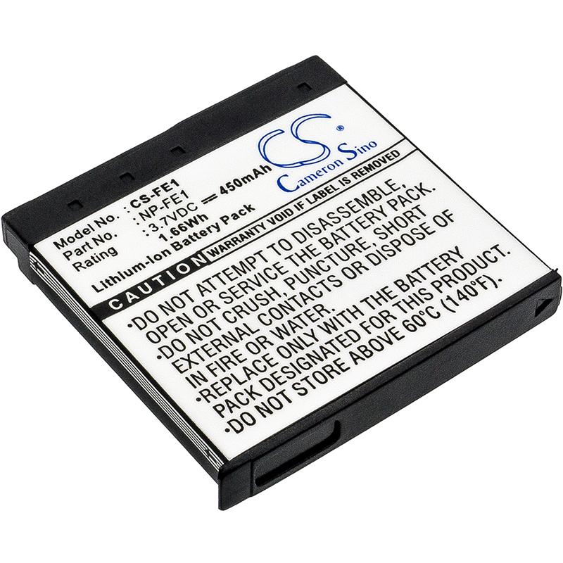 Cameron Sino baterie do kamer a fotoaparátů pro SONY Cyber-shot DSC-T7/S 3.7V Li-ion 450mAh tmavě šedá - neoriginální